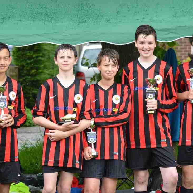 Ashington Cougars Black U13 Awards 2016