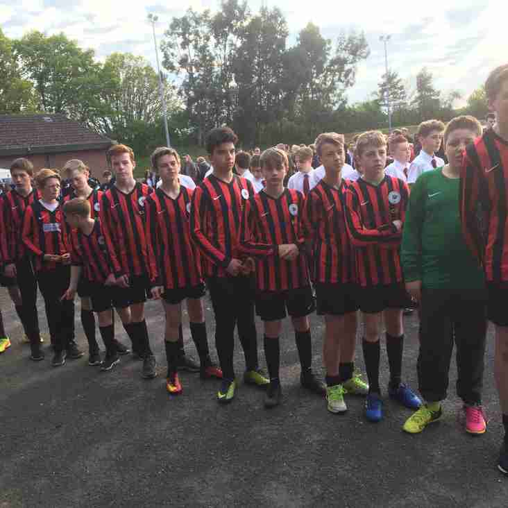 Ashington Cougars U14 win promotion
