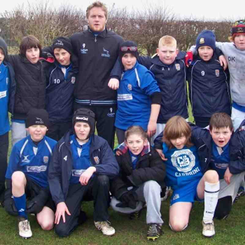 Ryton Warriors U12's Landrover cup Squad