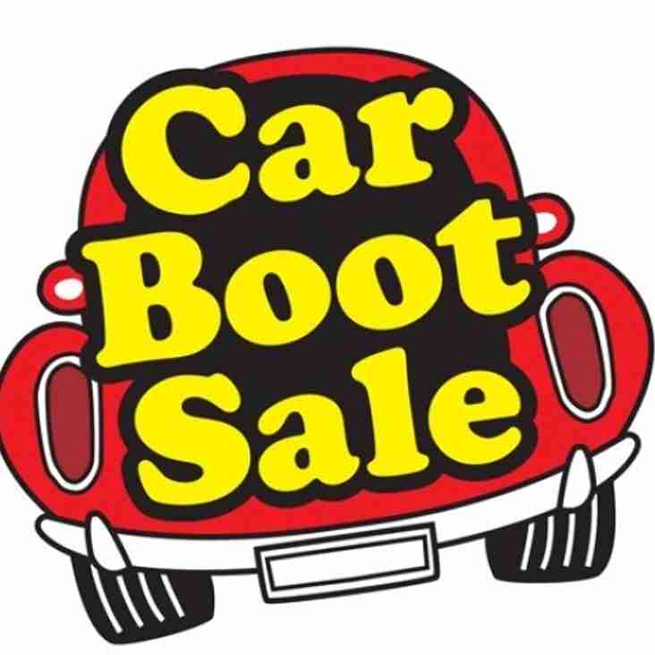 Car Boot Sale - Sunday 14th August