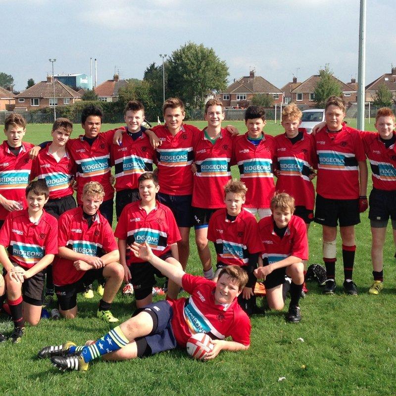 U15s beat St Neots RFC 0 - 41