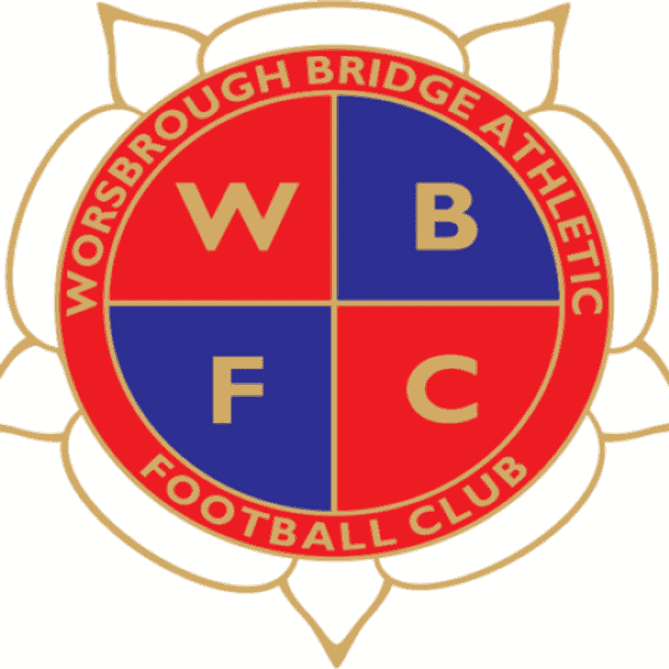 DEADLINE EXTENDED Worsbrough Bridge AFC are looking to recruit a first team and reserve team manager for our 2016/17 season.