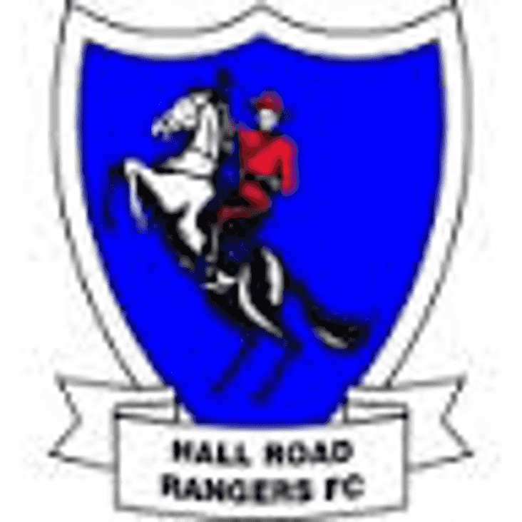 Re-arranged date V Hall Road Rangers