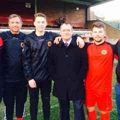 Michael Dugher MP unveiled as Worsbrough Bridge AFC patron
