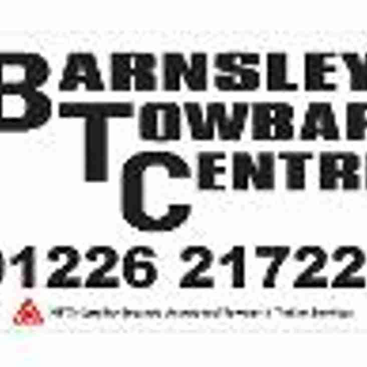 Barnsley Towbar Centre agree 2nd year sponsorship