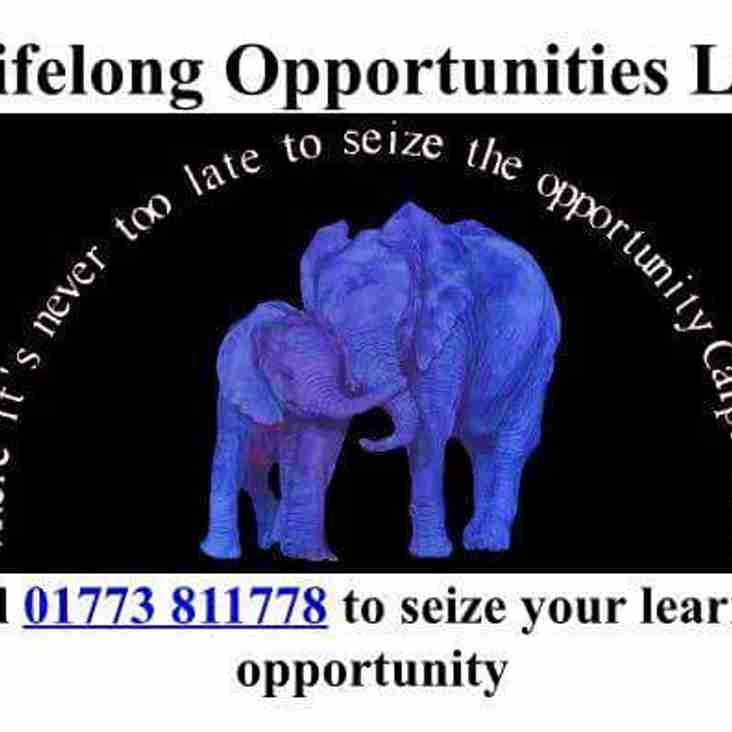 Lifelong Opportunites Ltd the latest to sponsor the Briggers