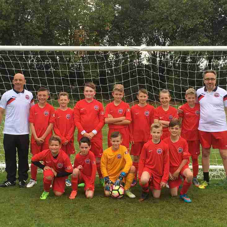 Worsbrough Bridge reach U11's Shield Final