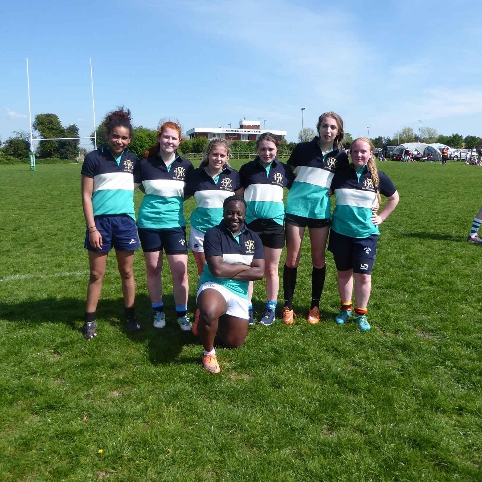 Beckenham Girls at Kent 7,s 2016