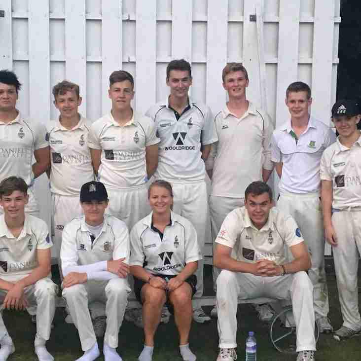 Bagshot CC U19s Hawks 2016