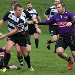 Newcastle Ravens RFC v Northampton Outlaws RFC - 1st gay-friendly match in Yorkshire (FT score: Ravens 38-12 Outlaws)