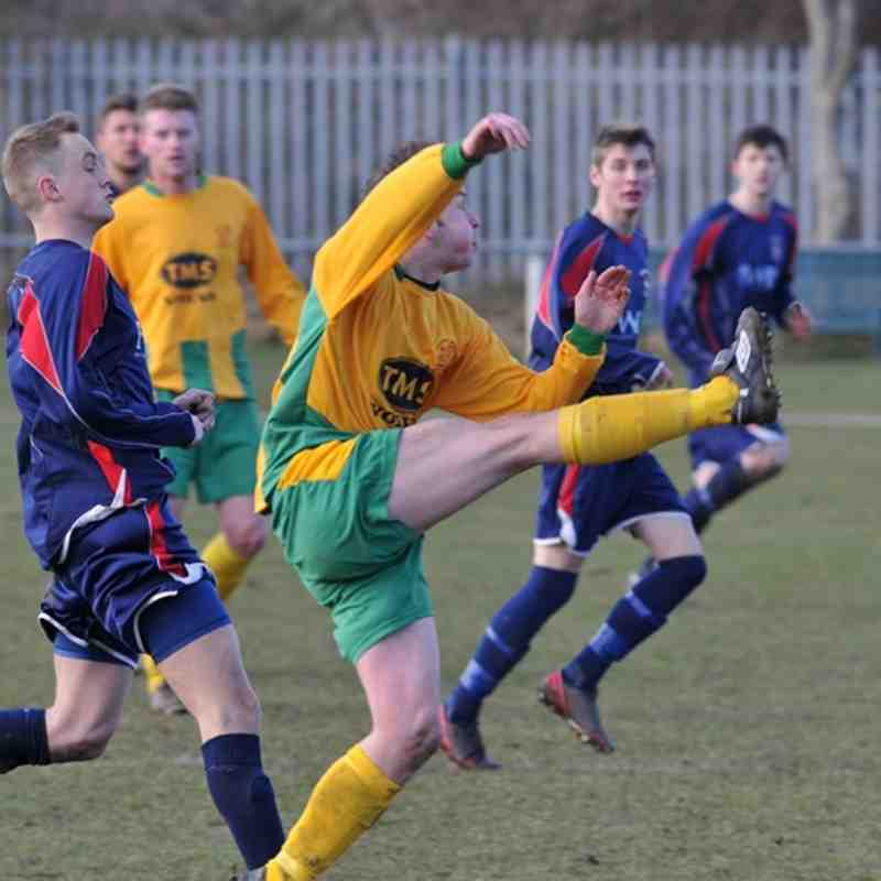 Radcliffe Olympic v Holwell Sport FC 30/04/2013