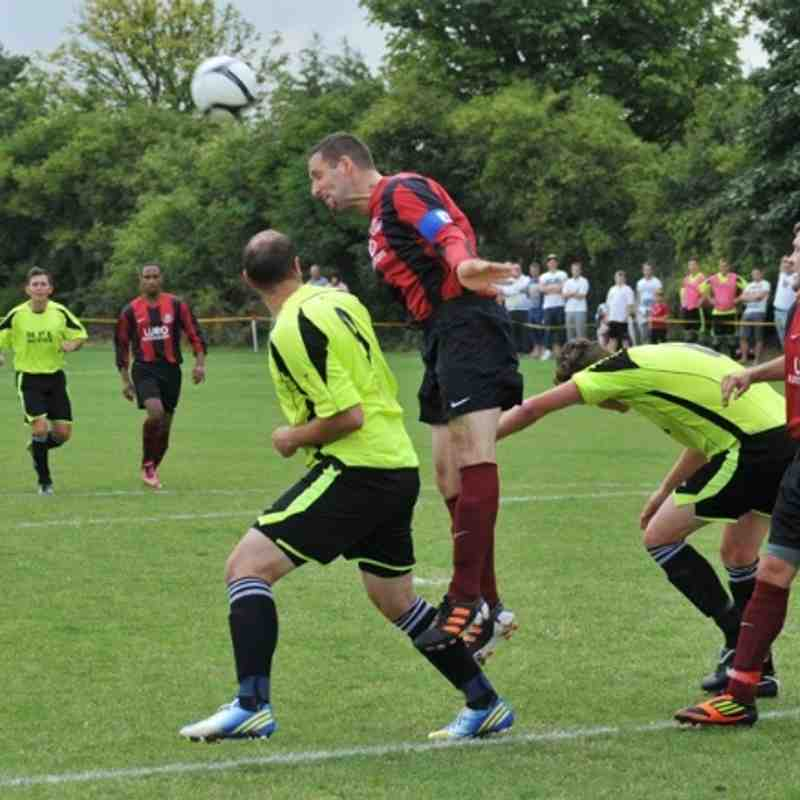 Bingham Town v Linby Colliery Welfare FC 24/08/2013.