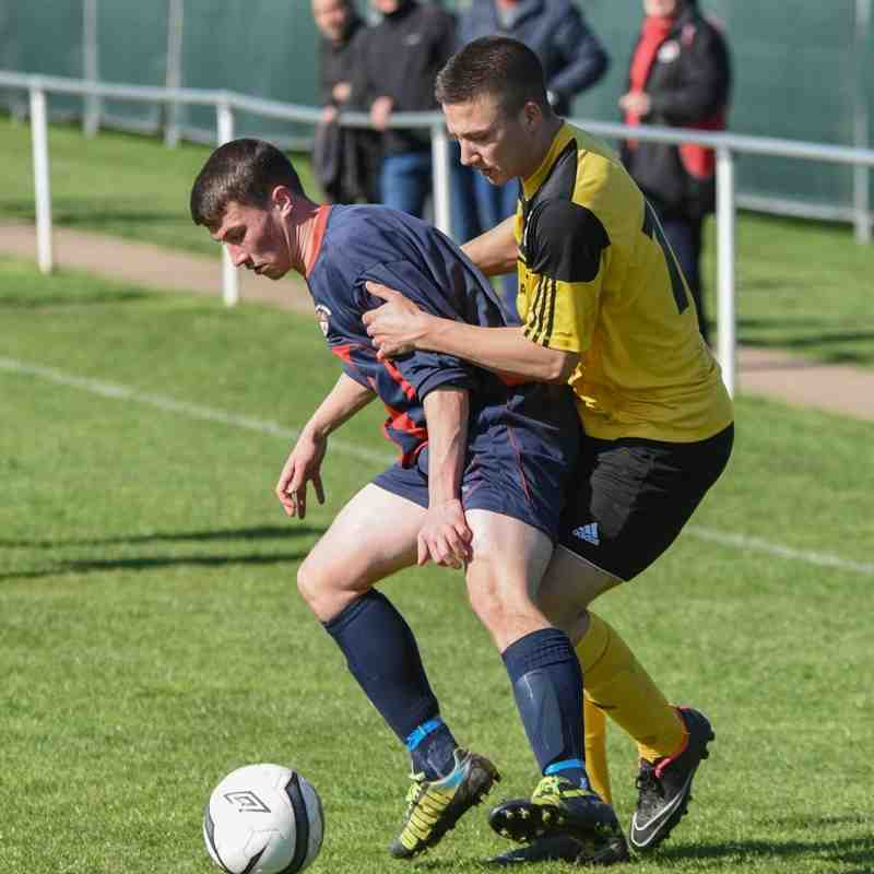 Radcliffe Olympic v Stapenhill FC 18/04/2015