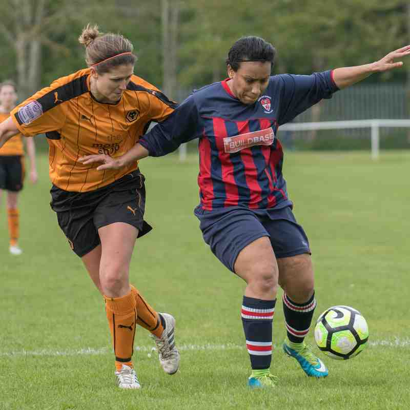 Radcliffe Olympic Ladies v Wolverhampton Wanderers Women 30/04/2017