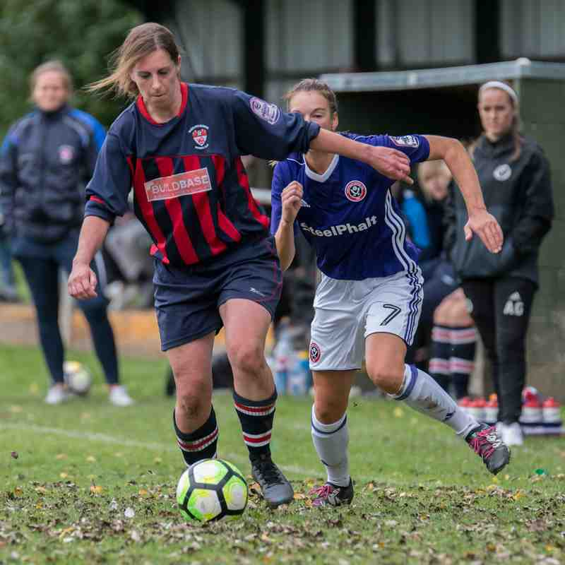 Radcliffe Olympic Ladies v Sheffield United Ladies 10/09/2017