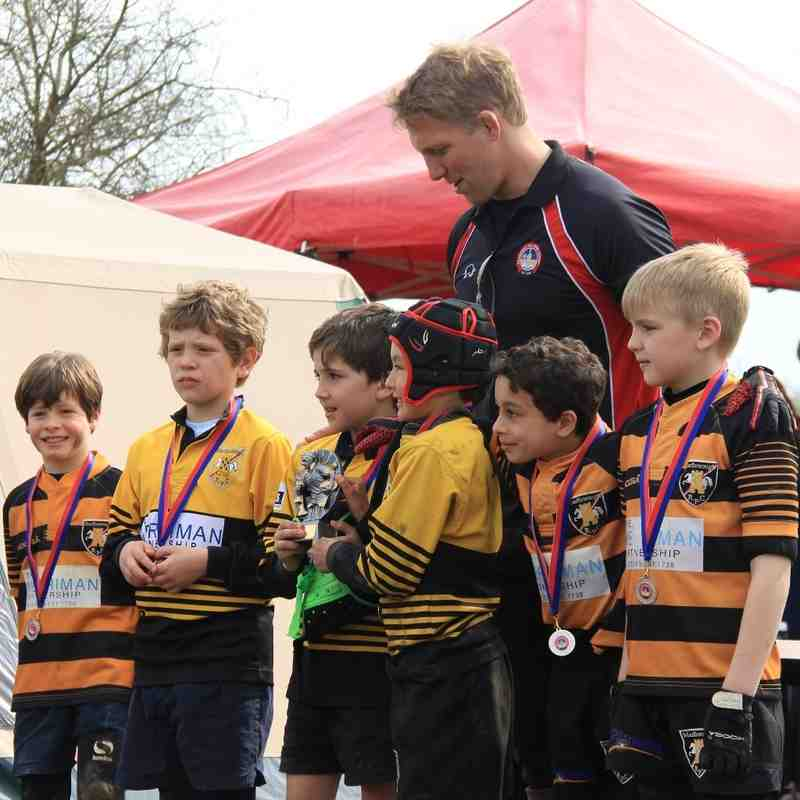 Bradford on Avon Festival 3rd April 2016 - winners of pools B and C