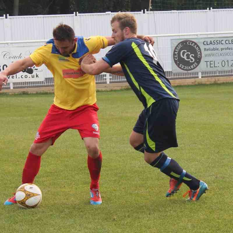 FC Romania v Baldock Town - FA Vase
