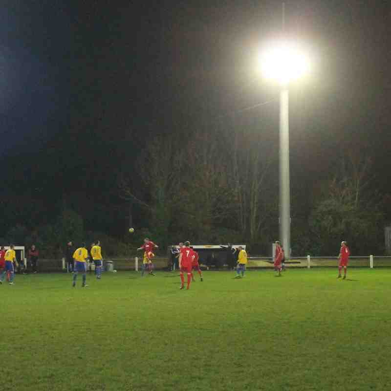 Baldock Town v Edgware Town League Cup 1/4 Final