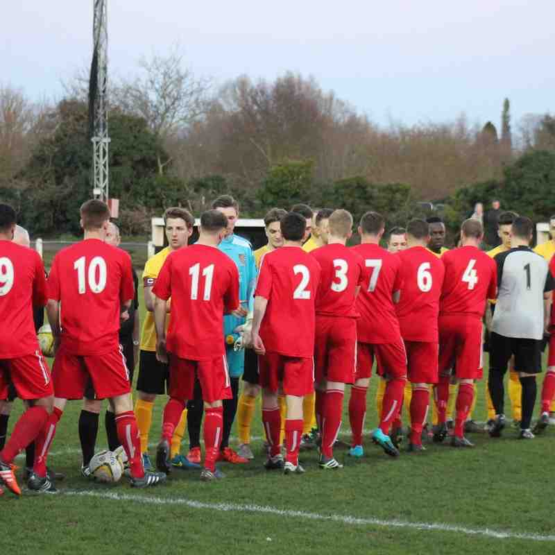 Baldock Town v Cheshum United