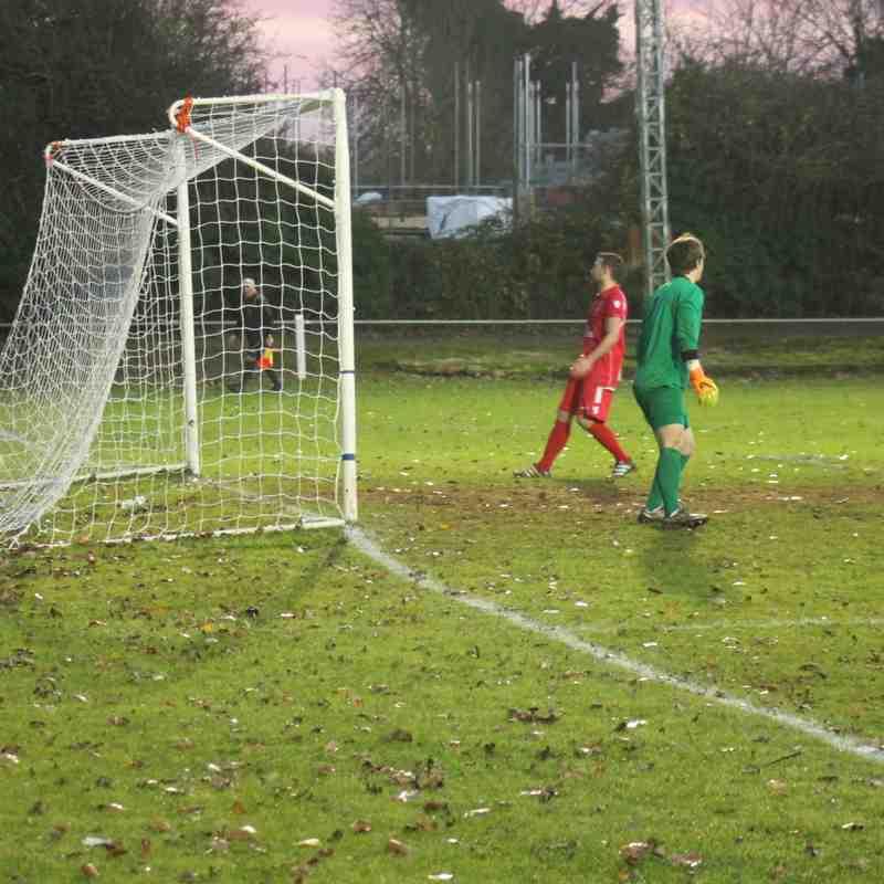 Baldock Town v Ampthill Town League 26/11/16