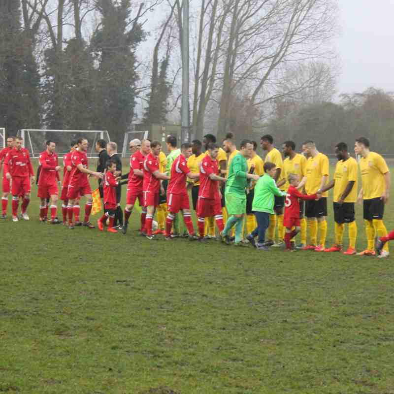 Baldock Town v Chesham United Reserves League 10/12/16