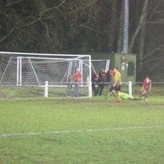 Baldock Town v Chesham United Reserves League 10/12/16
