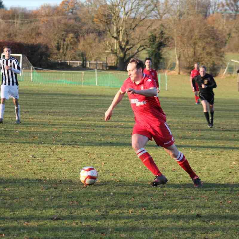 Sandridge Rovers v Baldock Town Herts County Cup 03/12/16