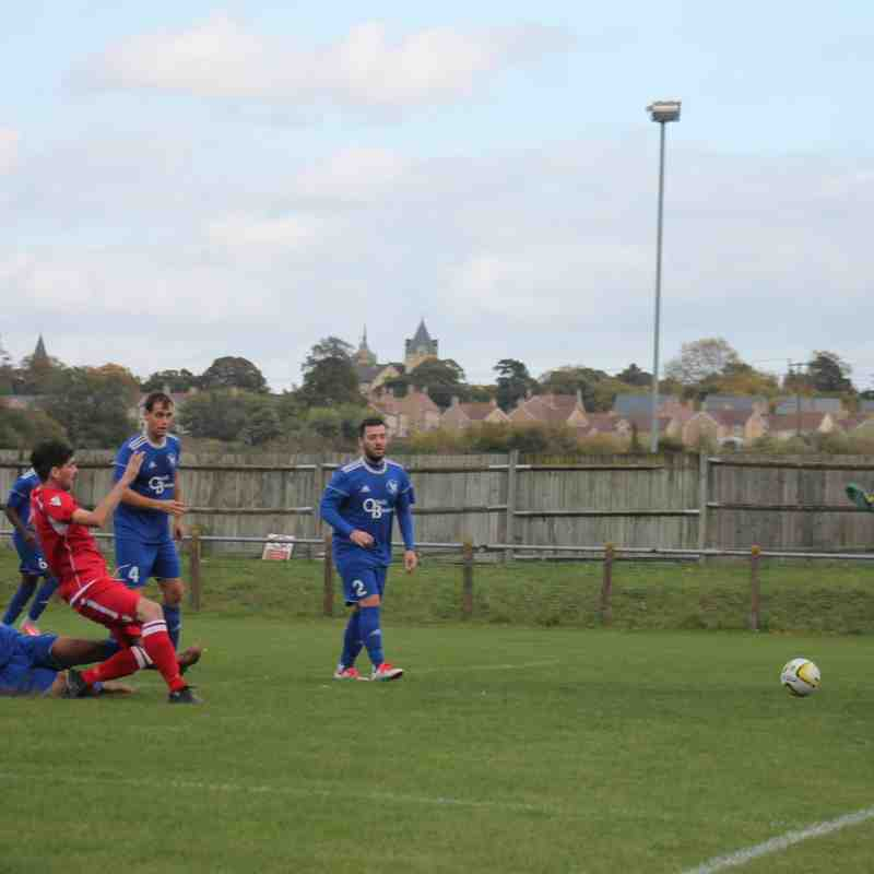 Baldock Town v Broadfields United League 14/10/17