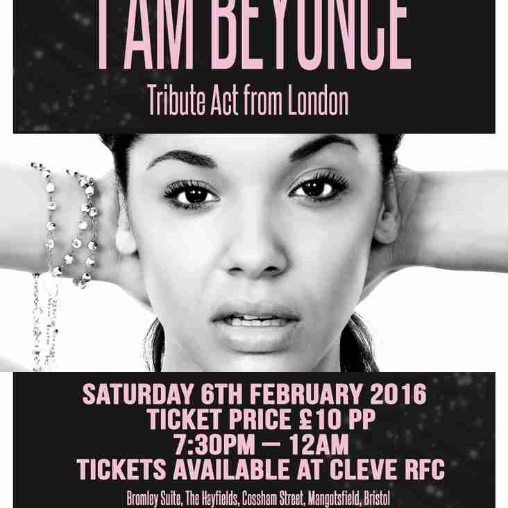 "I Am Beyonce Tribute Act from London ""LIVE"" Saturday 6th February 16"