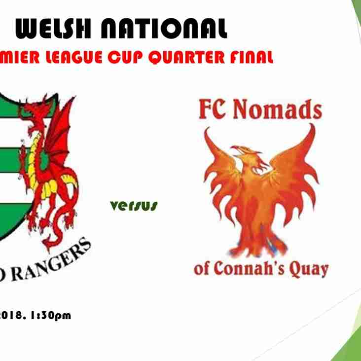 Welsh National Premier League Cup Quarter Final Preview