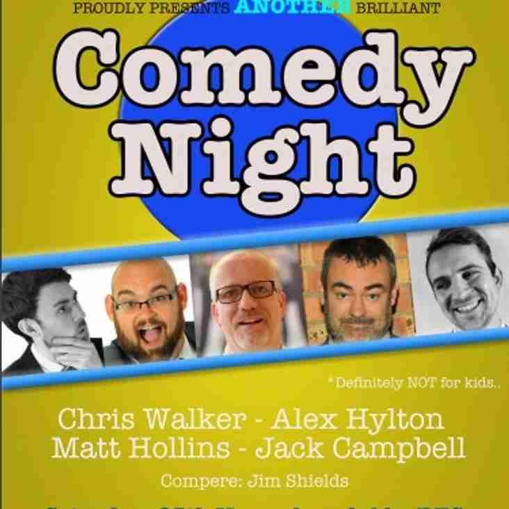 ARFC Comedy Night - 25th November (NEXT SATURDAY) 7:30pm onwards