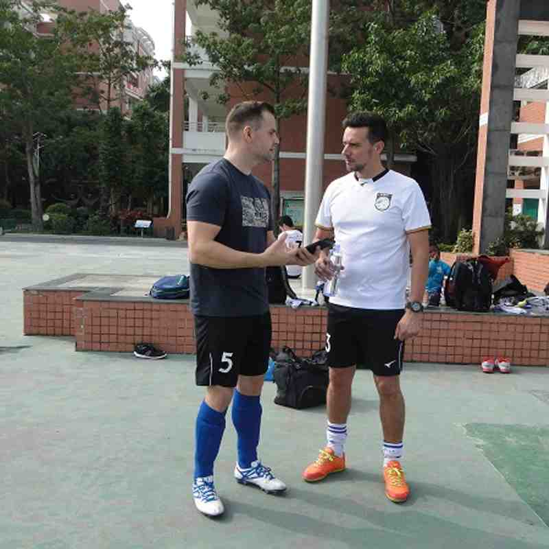 12/10 - Game 5 - Xiamen Division 11 a Side 2016/17