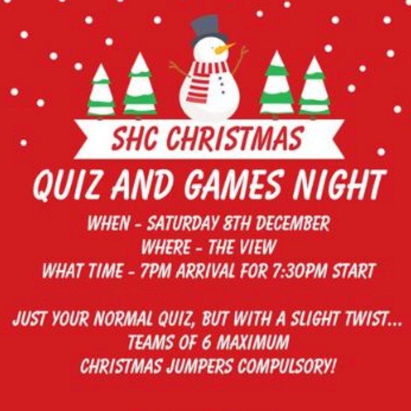 SHC Quiz and Games Night!