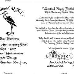 125 Anniversary Port