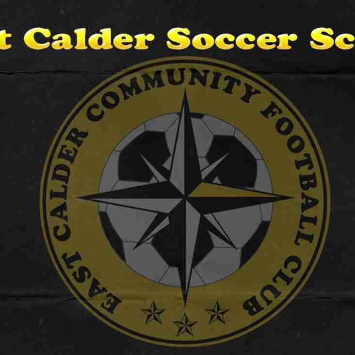 East Calder CFC Soccer School