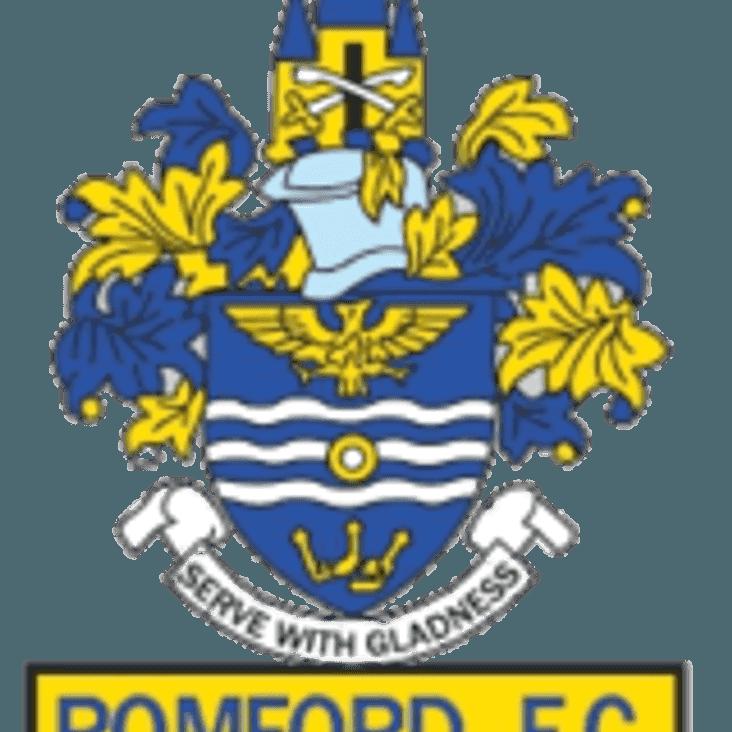 Bostik League North Division Preview   Romford F.C.