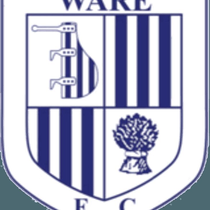 Bostik League North Division Preview   Ware F.C.