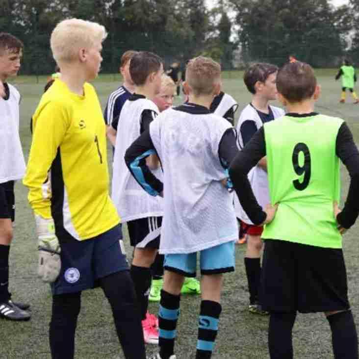 ACADEMY | U13 & U14 Enjoy Fun (But Wet) Pre-Season Training Session!