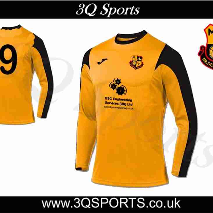 Mildenhall Town U14's Unveil 2017/18 Home Kit With GSC Engineering Services (UK) Limited