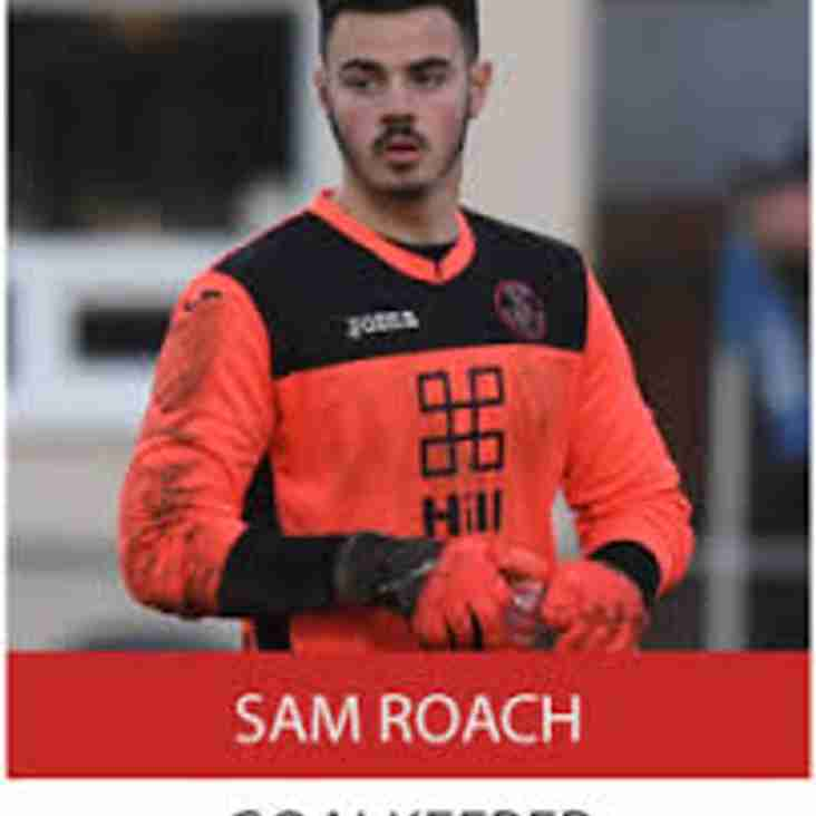 MILDENHALL TOWN SIGN EXCITING YOUNG GOALKEEPER SAM ROACH