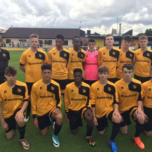 MATCH REPORT   MILDENHALL TOWN U18 2 CAMBRIDGE UNITED U16 3