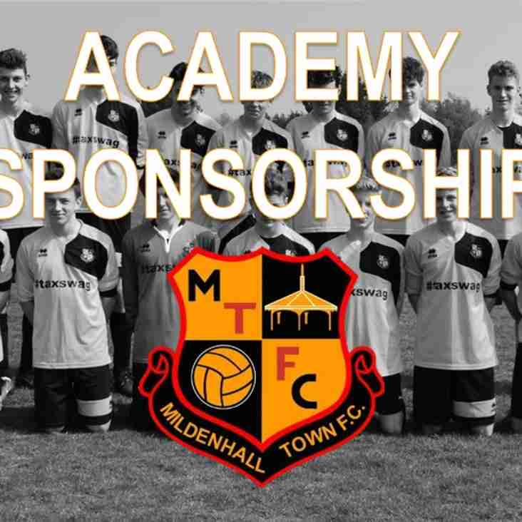 SPONSORSHIP | Be associated with our academy