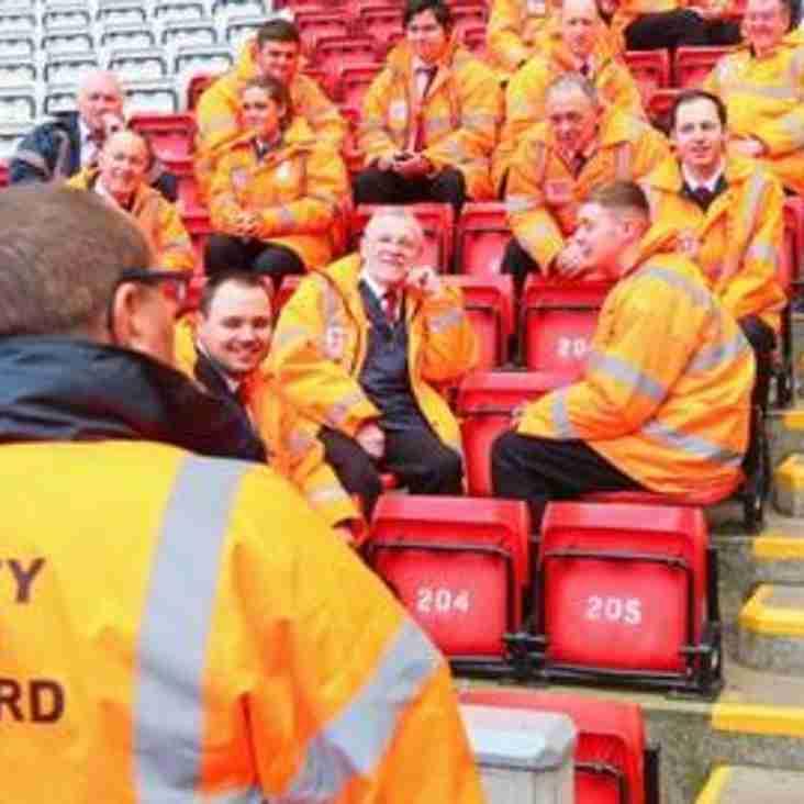 VACANCY   Matchday stewards wanted