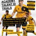 U16 Academy   Junior Premier League Open Trial Sessions 2018/19