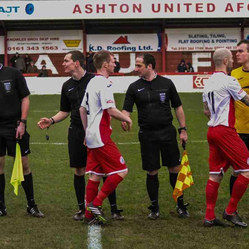 Ashton United vs Rushall Olympic