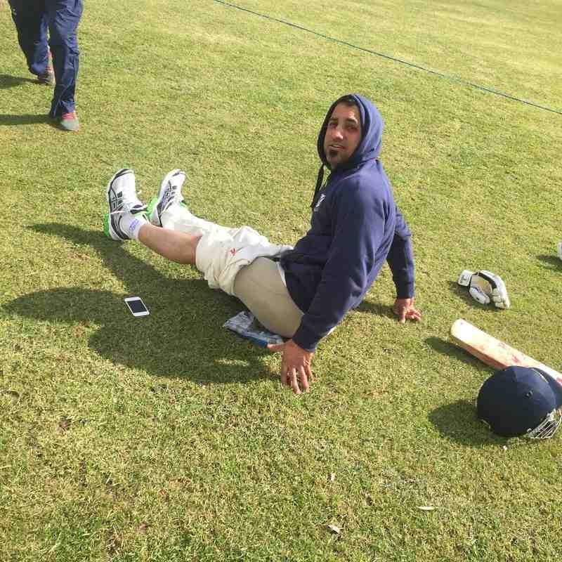 Shabz broke down after scoring 100