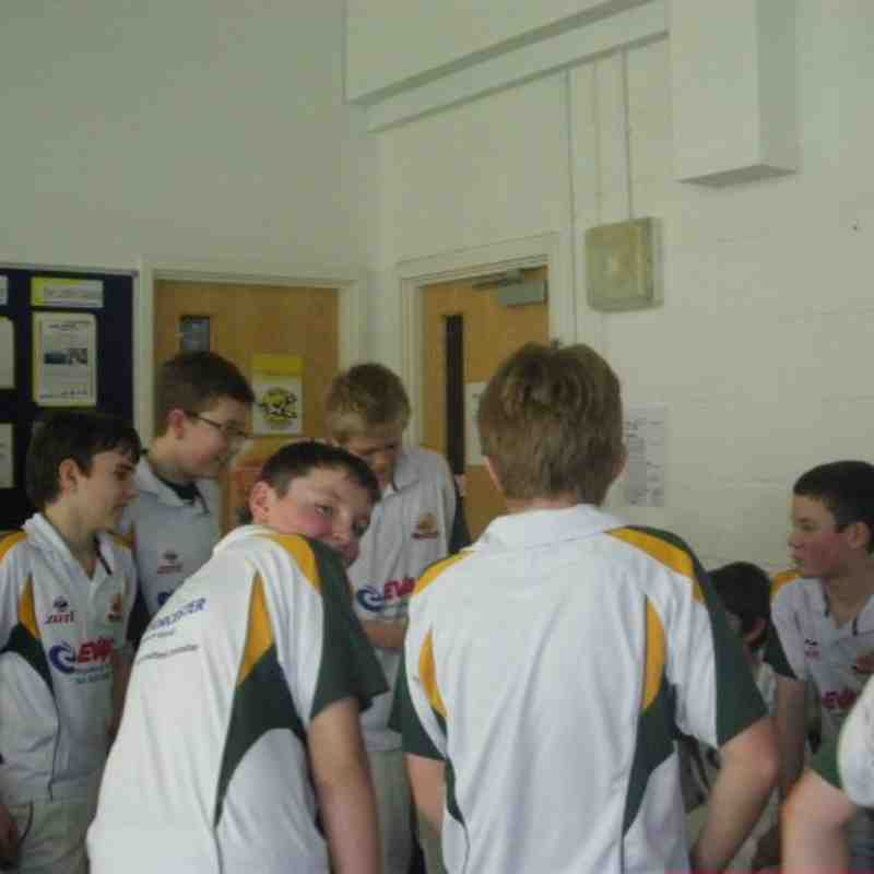 Whitstable Gold Under 13s INDOOR CHAMPIONS 2011