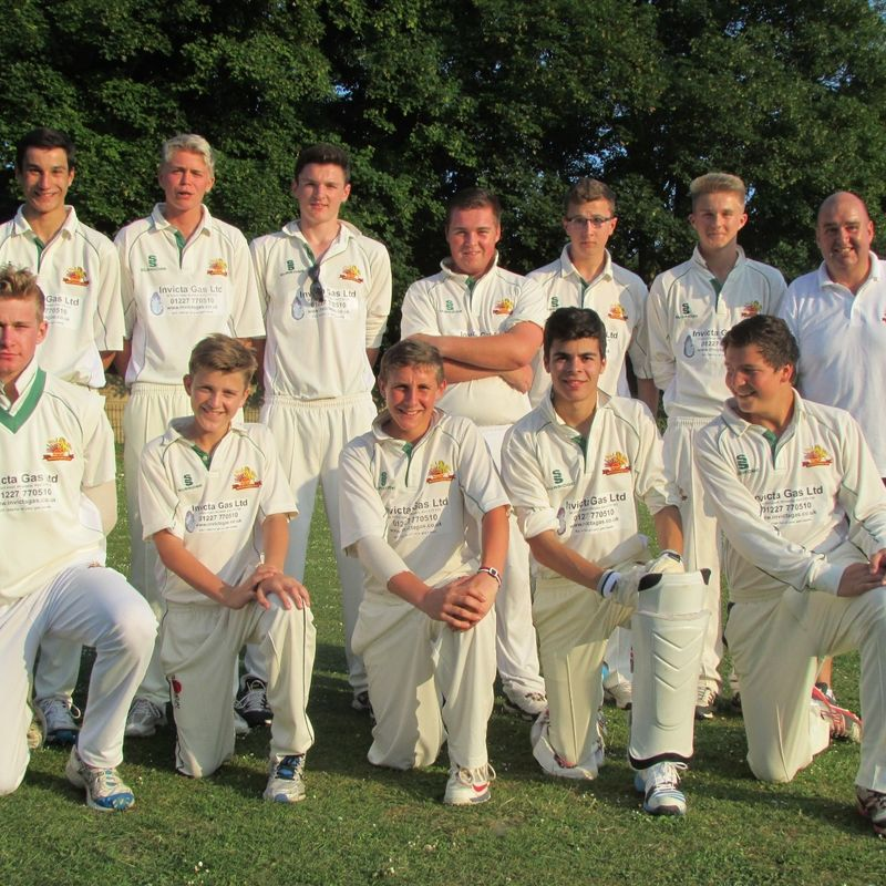 Reculver CC - Under 18 122/5 - 169/5 Whitstable CC - Under 18