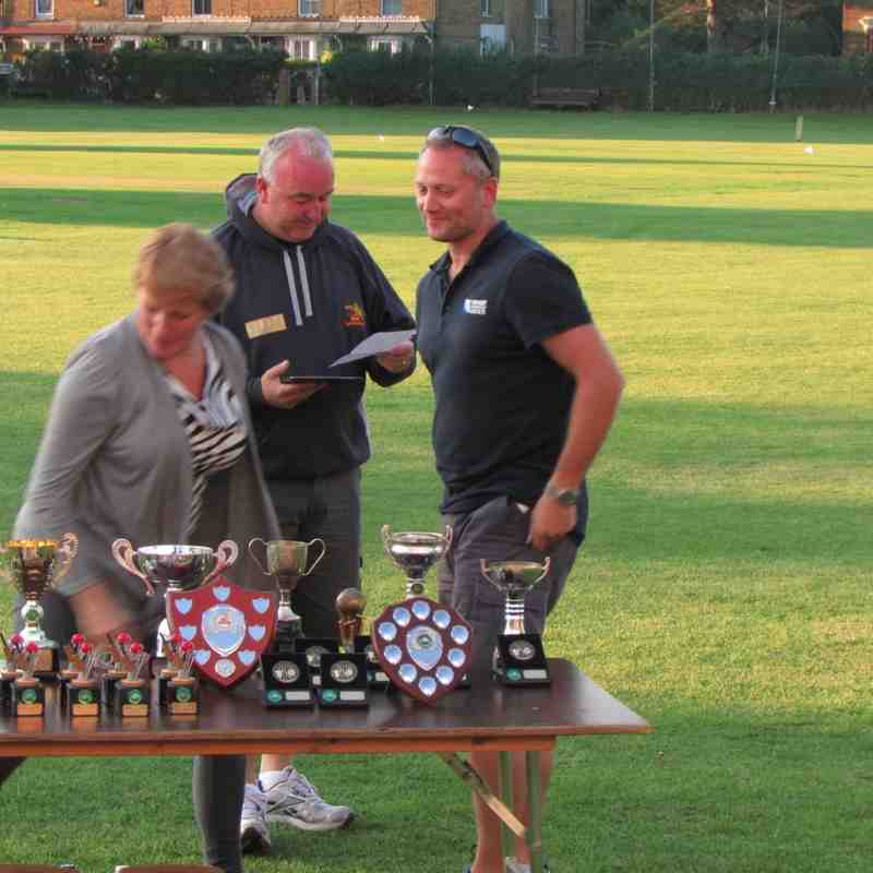 Colts Presentation Day Sunday 6th September 2015