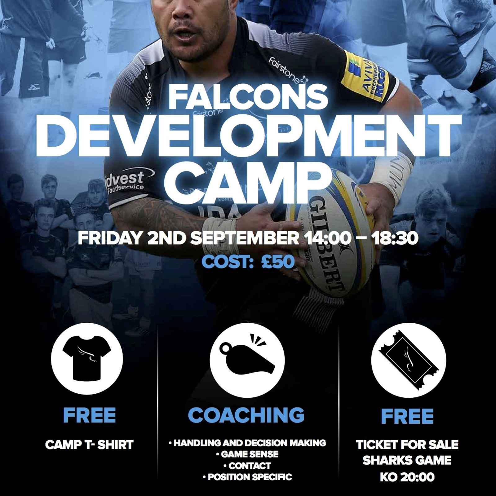 U13-16 Falcons Development Camp